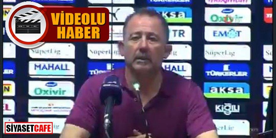 Sergen Yalçın şok oldu: Futbolcular basın toplantısını bastı