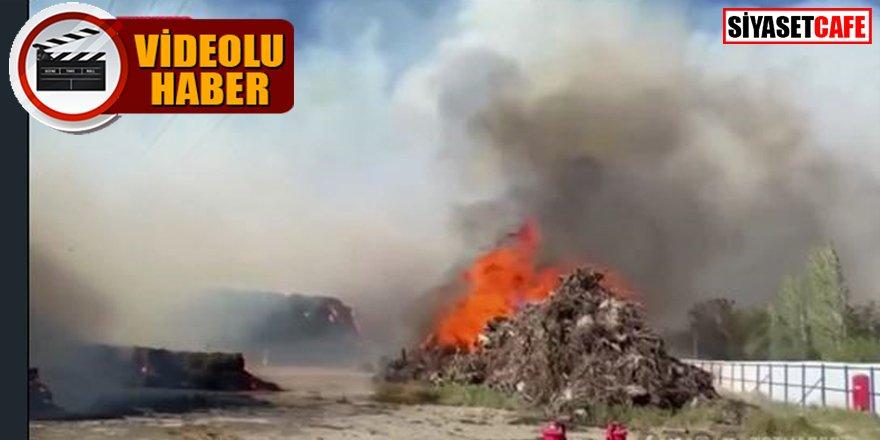 Afyonkarahisar'da 15 gün arayla ikinci yangın