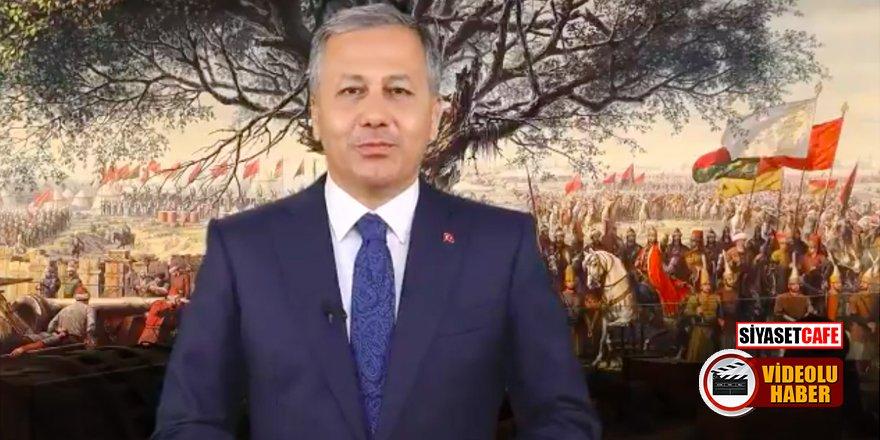 Vali Yerlikaya'dan İstanbul'un Fethi'ne özel videolu mesaj!