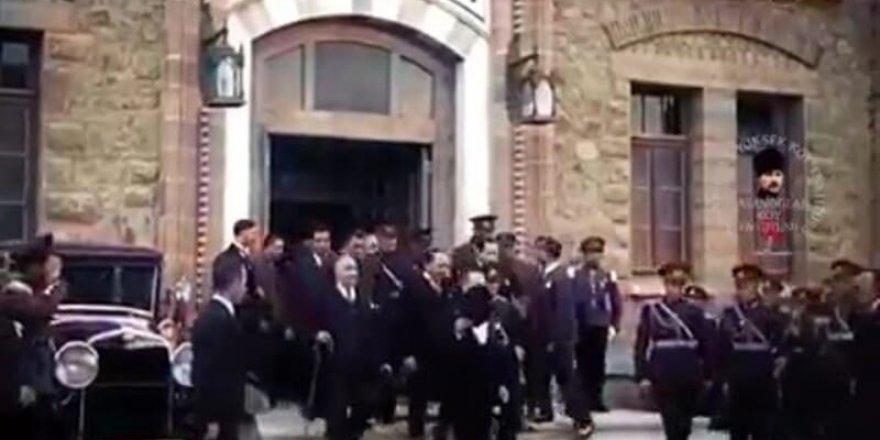 Atatürk'ün muhteşem görüntüleri