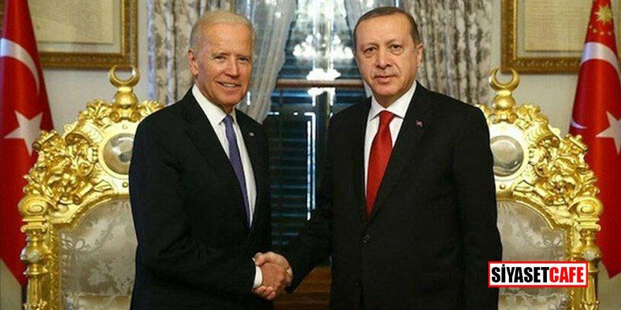 Erdoğan'dan ABD Başkanı Biden ile görüşmesine ilişkin açıklama!