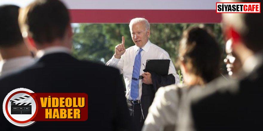 Joe Biden ısrarla soru soran muhabiri azarladı