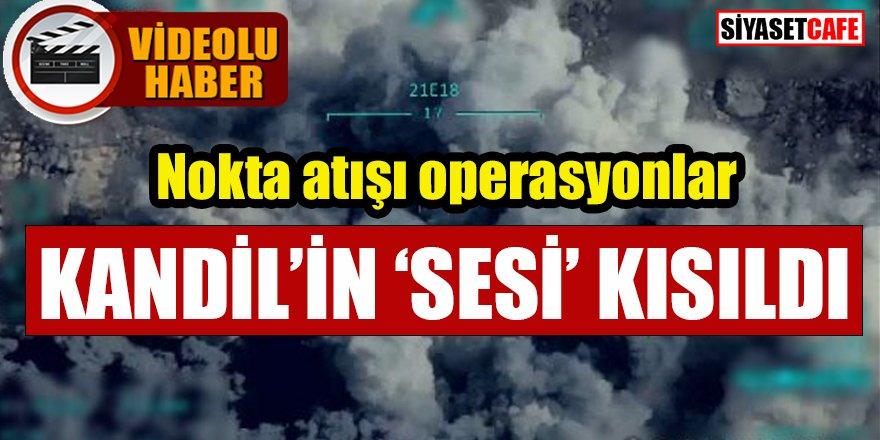 Nokta atışı operasyonlar: Kandil'in 'sesi' kısıldı -video-