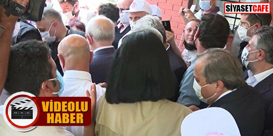 Kılıçdaroğlu vatandaşın tepkisine cevap veremedi, sırtını dönüp gitti