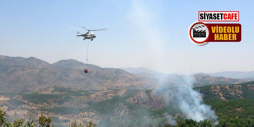 Bingöl'de orman yangını! İki gündür müdahale ediliyor