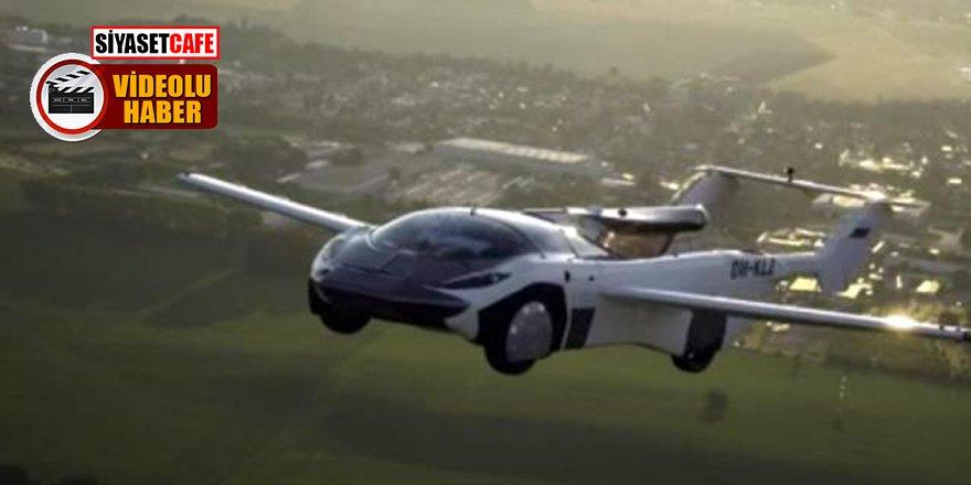 Uçan araba ilk şehirler arası uçuşunu başarıyla gerçekleştirdi