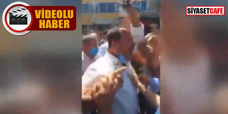 AK Partili meclis üyesinden protesto