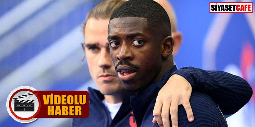 Ünlü Fransız futbolcuların ırkçılık skandalı kamerada