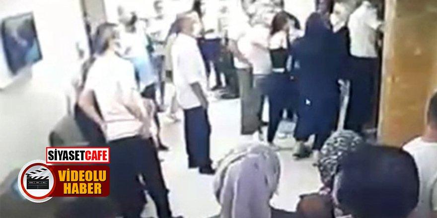 Özel hastanede asansör kavgası! Anne-kız saldırıya uğradı