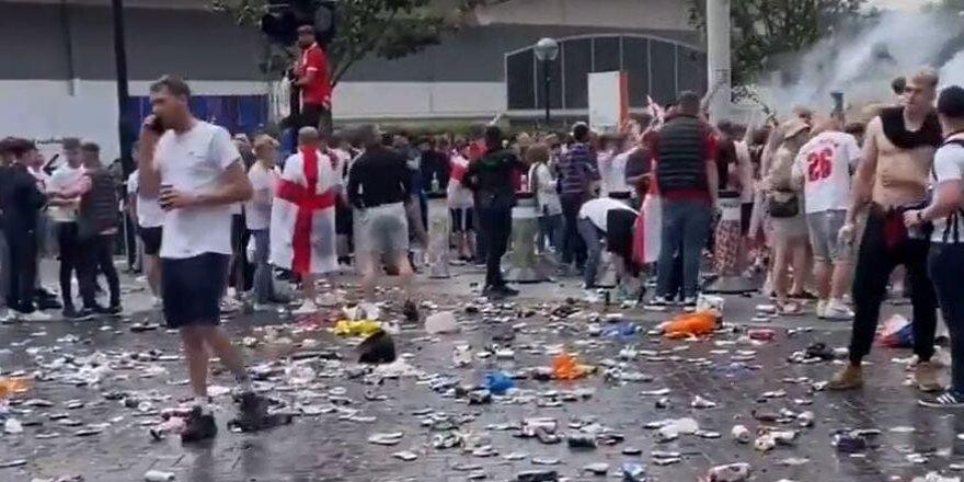 EURO 2020 finali öncesi Londra karıştı