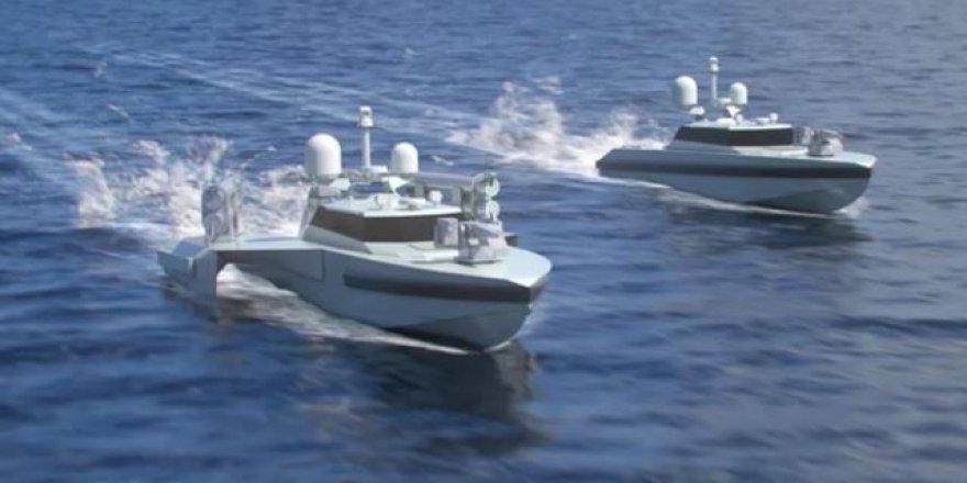 Türk denizlerine 2 yeni insansız deniz aracı geliyor