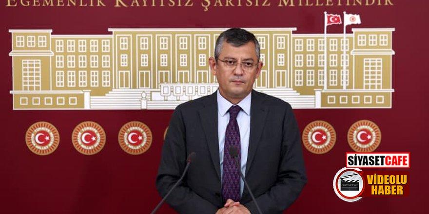 CHP'li Özel'den sert tepki: TRT'nin çatısına pelikan ordusu kondu