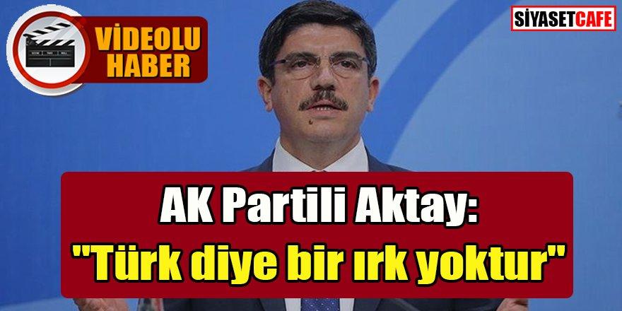 """Yasin Aktay: """"Türk diye bir ırk yoktur"""""""