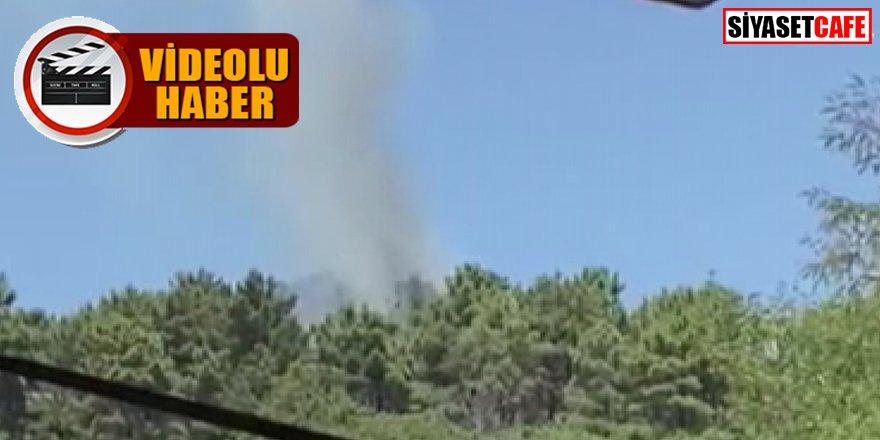 İstanbul'da panik: Beykoz'da yangın alarmı