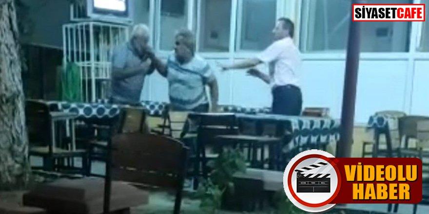 Kameraya yakalandı: İYİ Partili eski başkan engelli şahsı öldüresiye dövdü