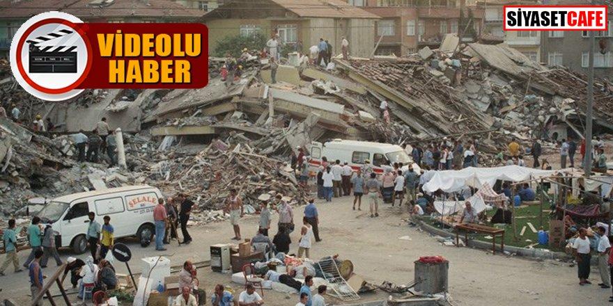 AFAD'ın sosyal medyadan 'Marmara Depremi' paylaşımı