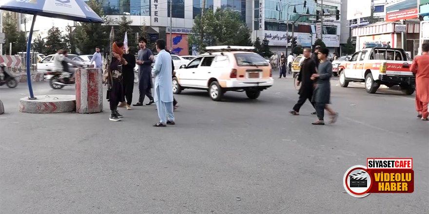Taliban'ın ilk gününde Afganlar neler yaşadı? İşte Kabil sokakları