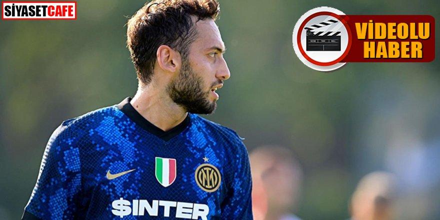 Hakan Çalhanoğlu Inter'de şov yaptı!