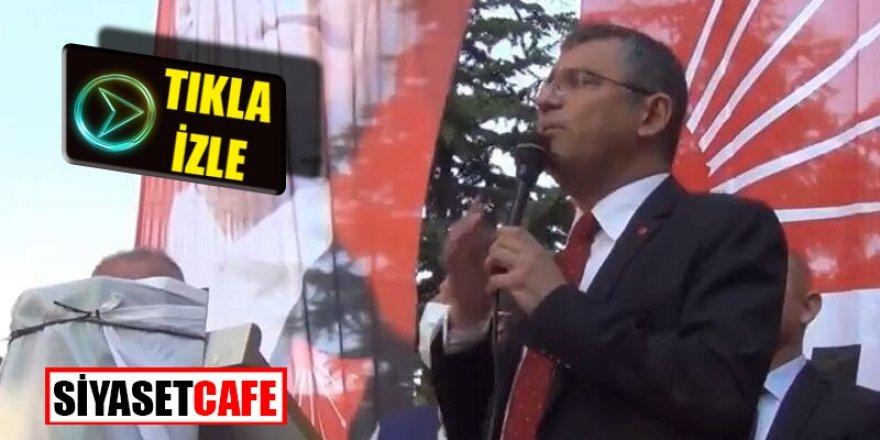 CHP'li Özgür Özel: Biz göçmene karşı değiliz