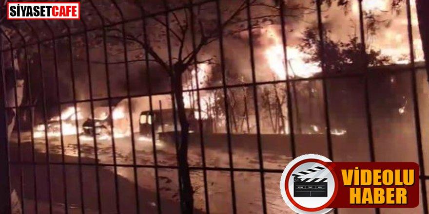 İstanbul'da peş peşe patlama sesleri!