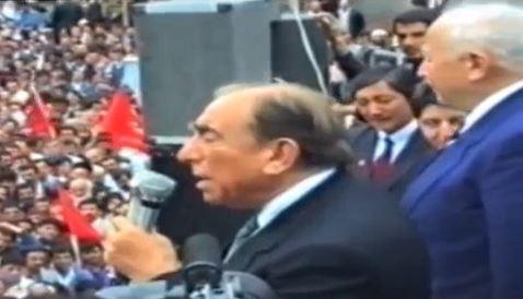 Erbakan - Türkeş - Edebali Çorum Mitinginde