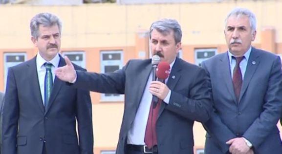 Destici'den Başbakan'a ağır sözler