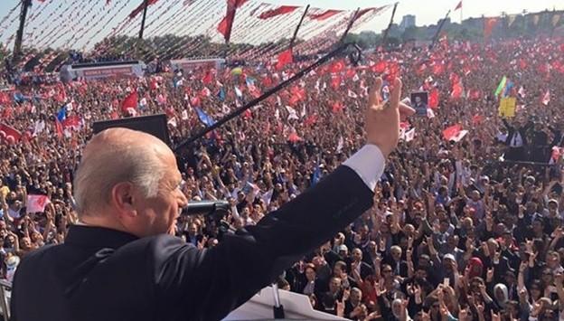 MHP Kazlıçeşme gövde gösterisi yaptı