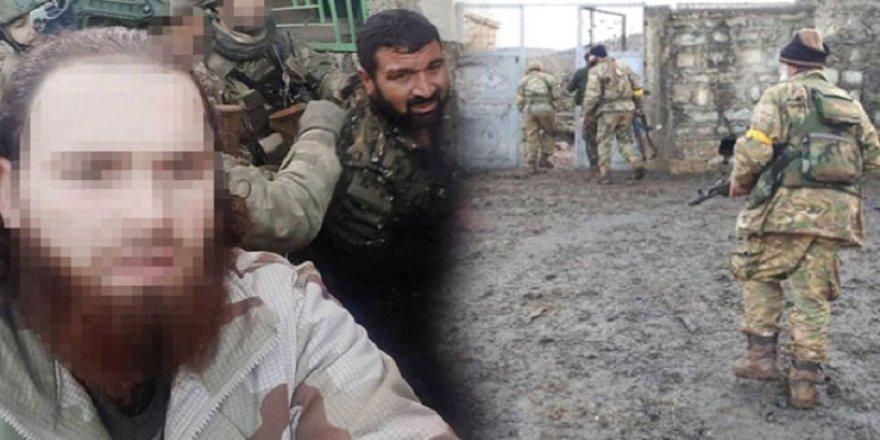 Afrin'de beni Türk askerine verin diye yalvaran terörist