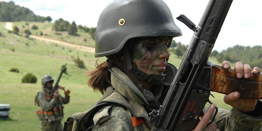 Kadın subaylarımızdan Afrin mesajı! Tüyleriniz diken diken olacak