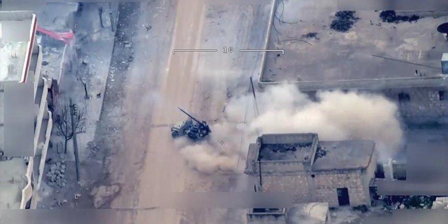 PKK'lı teröristlerin Afrin'de sivil oyunu ortaya çıktı