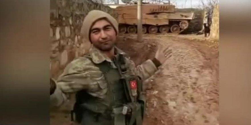 Afrin harekâtındaki Mehmetçik kahkahaya boğdu