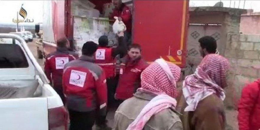 Türk Kızılay'ı Afrin'de! İşte ilk görüntüler
