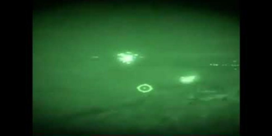 ATAK helikopterimiz gece yarısı teröristleri böyle vurdu